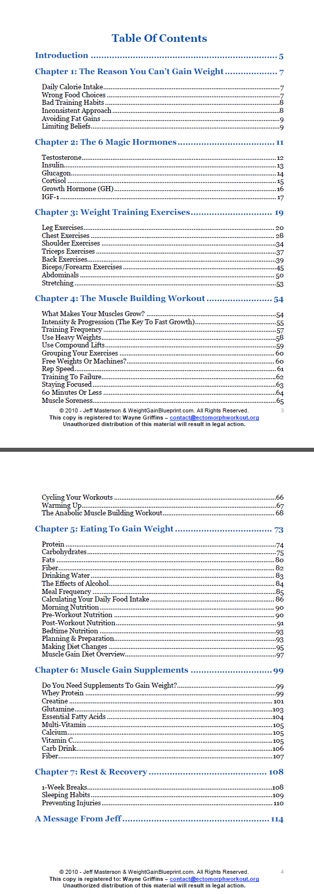 Jeff masterson weight gain blueprint review weight gain blueprint review ratings malvernweather Gallery