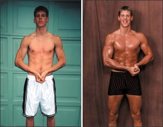 ectomorph transformation
