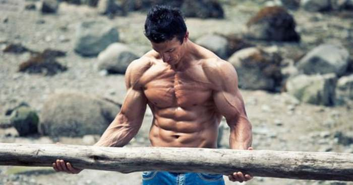 lean and ripped weight training