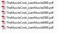 Anabolic Cooking Lean Muscle Meal Plan
